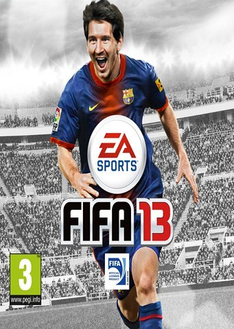 FIFA 13 Final Cover Featuring Lionel Messi