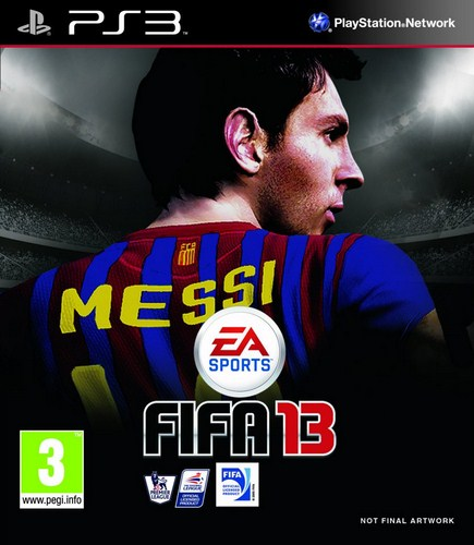 FIFA 13 PS3 Unfinished Cover