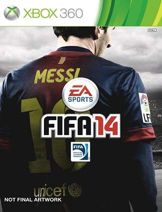 FIFA 14 Cover - Not final artwork