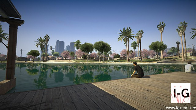 Grand Theft Auto V First Screenshot