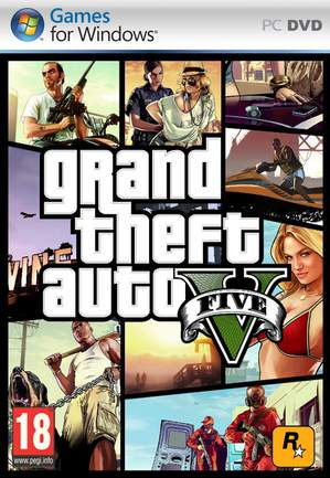 GTA V PC Cover