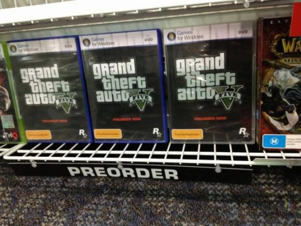 GTA V PC Preorder