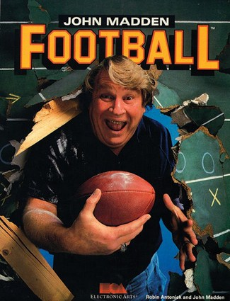 John Madden Football Cover