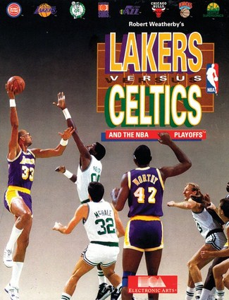 Lakers versus Celtics Cover