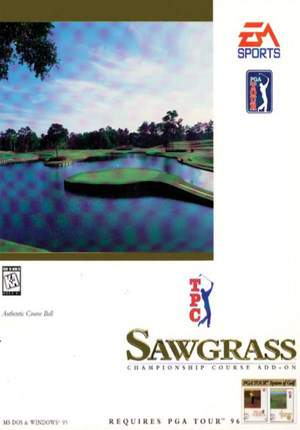 TPC Sawgrass course add-on for PGA TOUR '96 (1996)